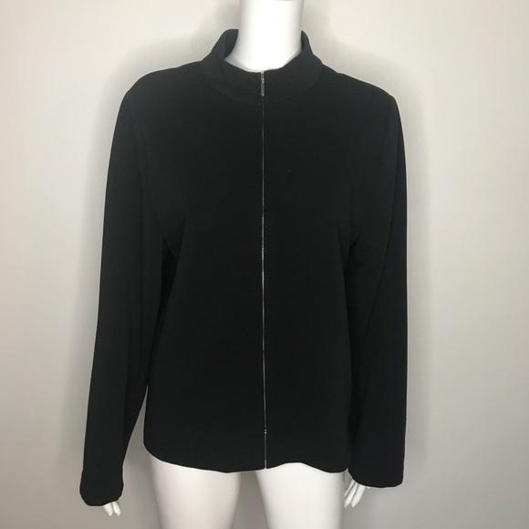 Briggs New York Jackets & Blazers - Womens Briggs New York Black Suit Jacket Size XL